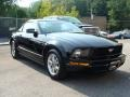 2007 Black Ford Mustang V6 Deluxe Coupe  photo #3