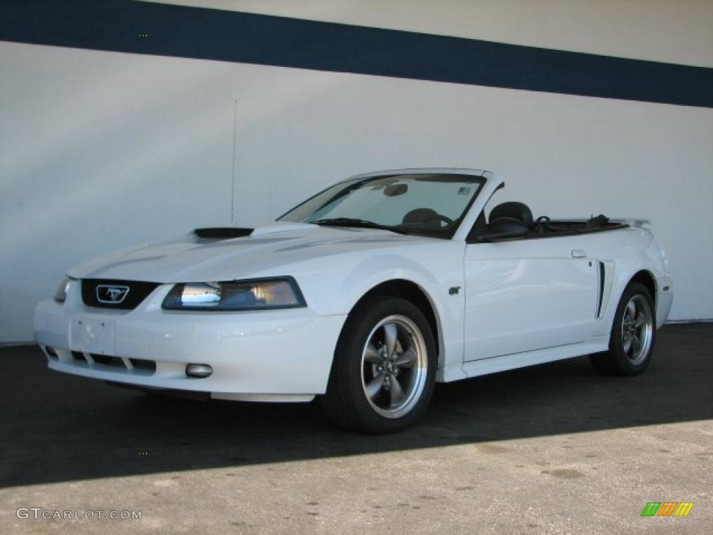 2003 oxford white ford mustang gt convertible 35719552. Black Bedroom Furniture Sets. Home Design Ideas