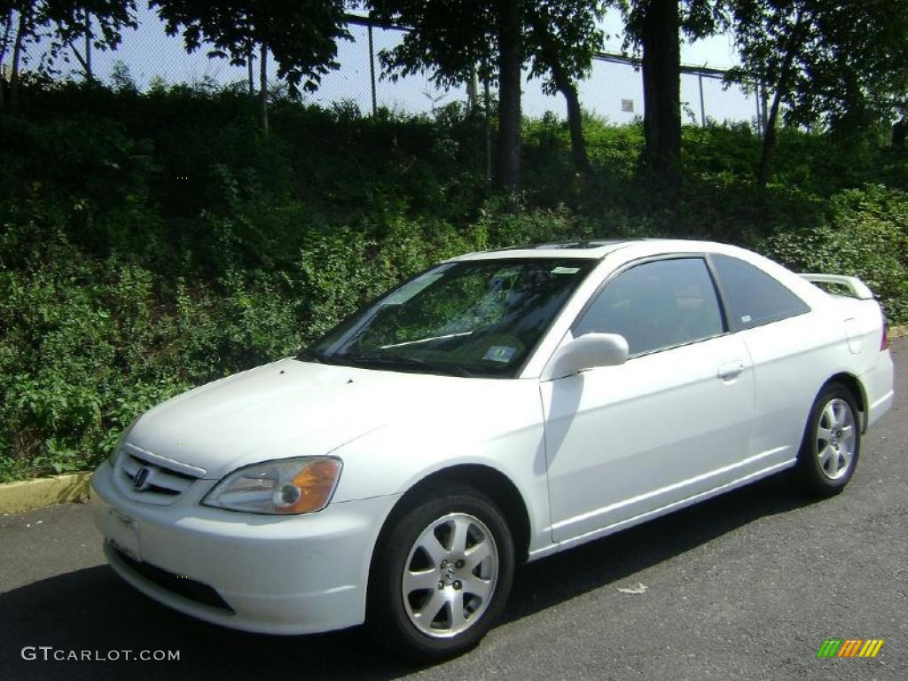 2003 taffeta white honda civic ex coupe 35719578 car color galleries. Black Bedroom Furniture Sets. Home Design Ideas