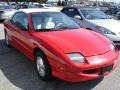 Bright Red 1998 Pontiac Sunfire SE Convertible