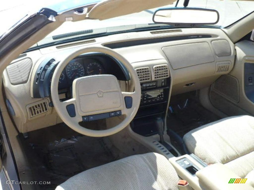 1994 lebaron gtc convertible bright platinum metallic tan photo 13