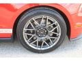 2011 Race Red Ford Mustang Shelby GT500 SVT Performance Package Coupe  photo #10