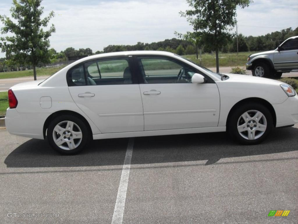 2007 White Chevrolet Malibu Lt Sedan 35788875 Photo 11