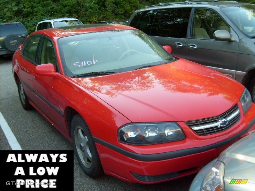 2001 Impala LS - Torch Red / Neutral photo #1