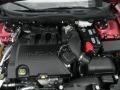 2008 Vivid Red Metallic Lincoln MKZ AWD Sedan  photo #13