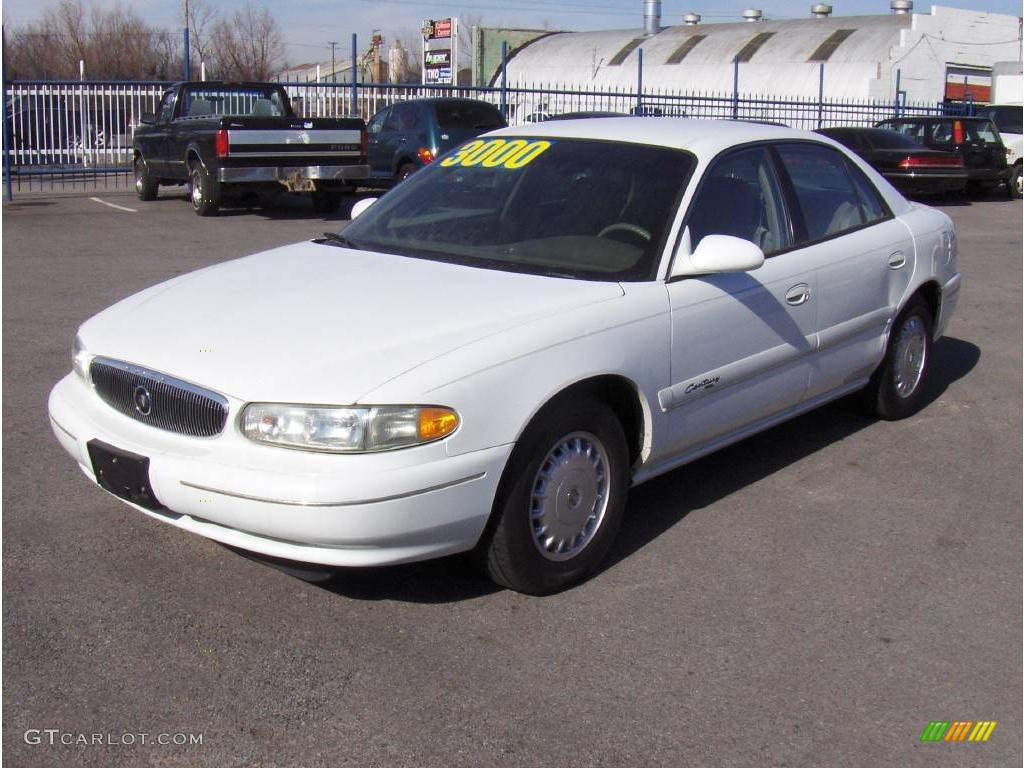Bright white buick century