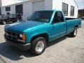 Bright Teal Metallic - C/K C1500 Cheyenne Regular Cab Photo No. 2