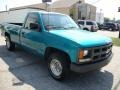 Bright Teal Metallic - C/K C1500 Cheyenne Regular Cab Photo No. 4