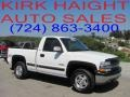 2000 Summit White Chevrolet Silverado 1500 LS Regular Cab 4x4  photo #1