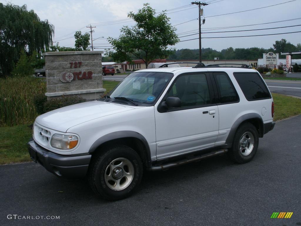 2000 Oxford White Ford Explorer Sport 4x4 35789004 Gtcarlot Com Car Color Galleries