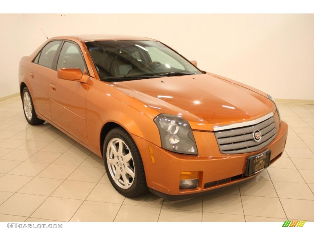 2003 copper sunburst cadillac cts sedan 35789410. Black Bedroom Furniture Sets. Home Design Ideas