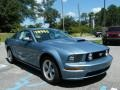 2007 Windveil Blue Metallic Ford Mustang GT Premium Coupe  photo #7