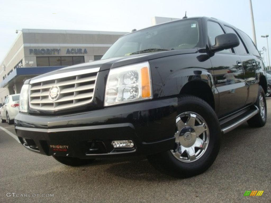 2004 black raven cadillac escalade awd 35788358 car color galleries. Black Bedroom Furniture Sets. Home Design Ideas