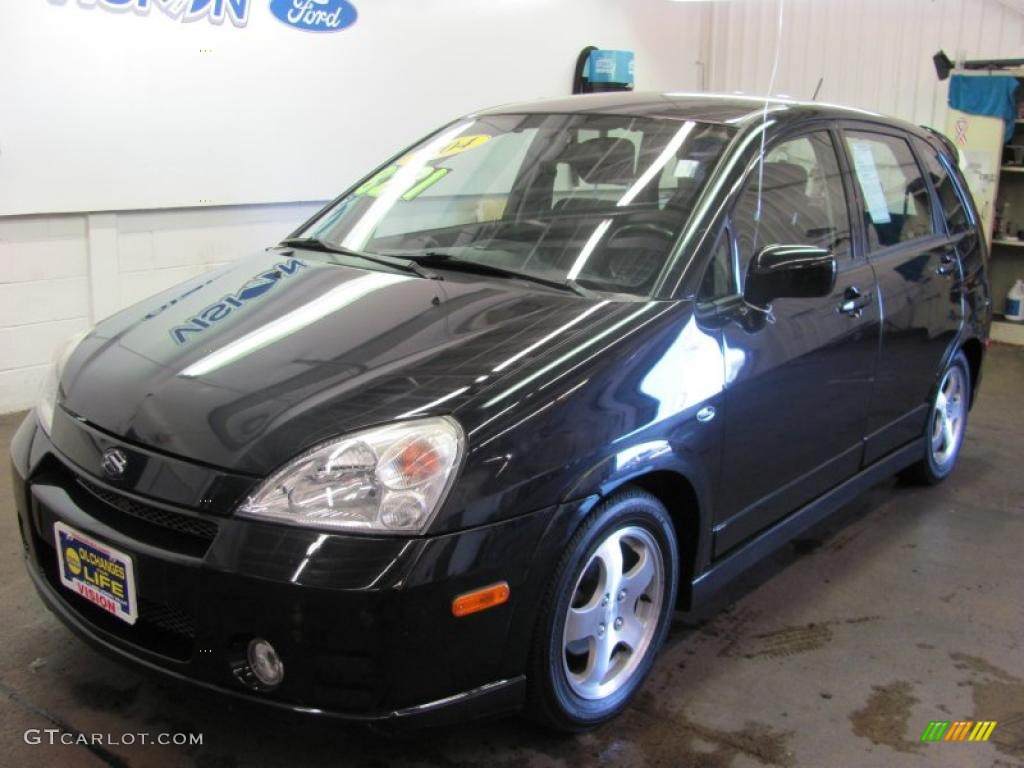 2004 black onyx suzuki aerio sx awd sport wagon 35789598 gtcarlot com car color galleries gtcarlot com