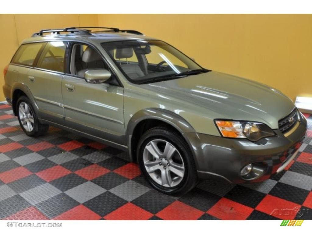 Ll Bean Subaru >> 2005 Willow Green Opal Subaru Outback 3.0 R L.L. Bean Edition Wagon #35789228 | GTCarLot.com ...
