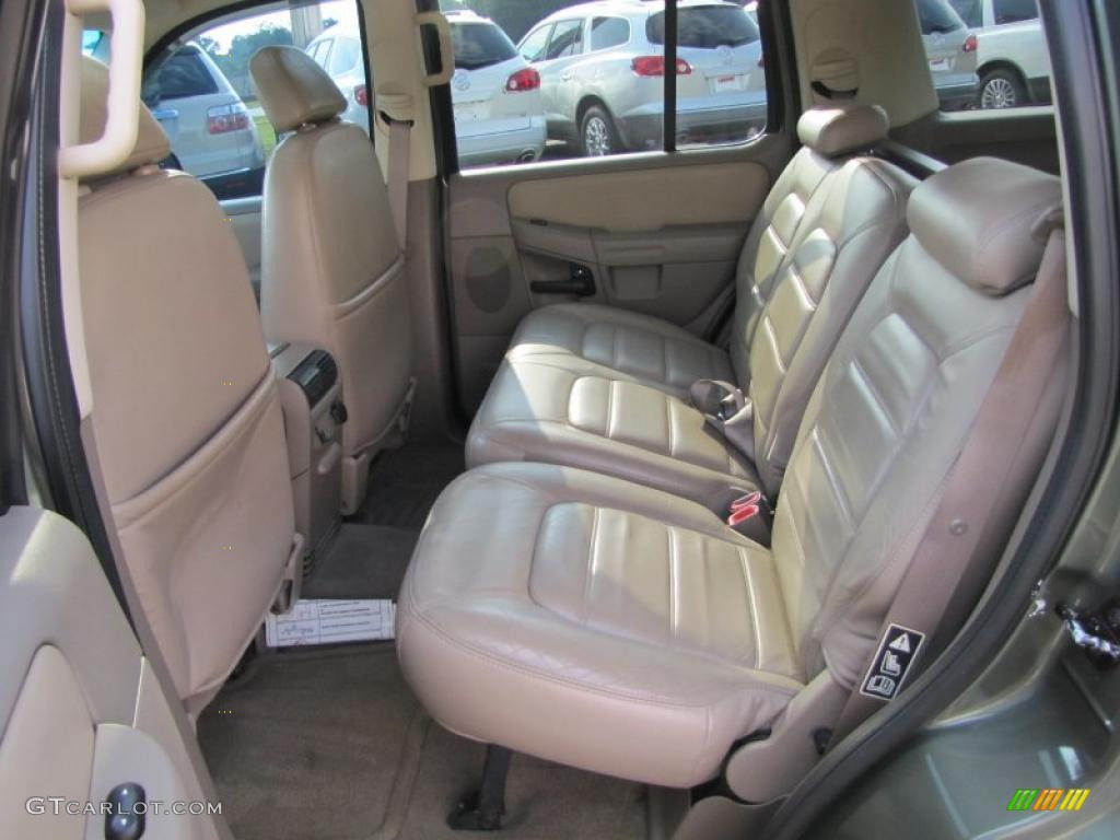 2002 ford explorer xlt rear seat photo  35891321