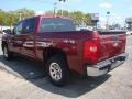 2009 Deep Ruby Red Metallic Chevrolet Silverado 1500 LT Crew Cab 4x4  photo #3