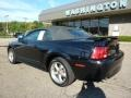 2001 Black Ford Mustang GT Convertible  photo #2