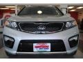 2011 Bright Silver Kia Sorento SX V6  photo #11