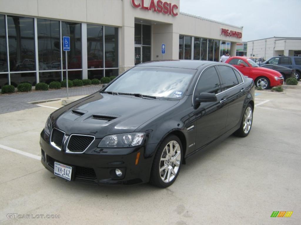 2009 Panther Black Pontiac G8 Gxp 35999242 Gtcarlotcom Car