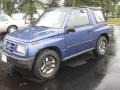 Scuba Blue Metallic 1996 Geo Tracker Soft Top 4x4