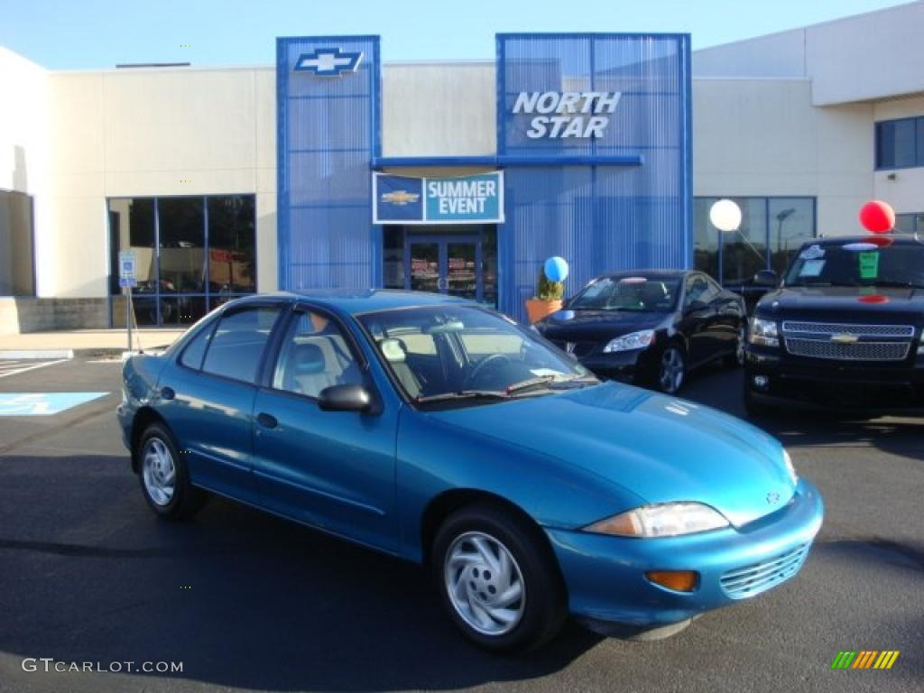 1998 Chevrolet Cavalier 1 - Cavalier Sedan Bright Aqua Metallic Graphite Photo - 1998 Chevrolet Cavalier 1