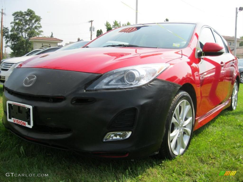 2010 velocity red mica mazda mazda3 s grand touring 5 door. Black Bedroom Furniture Sets. Home Design Ideas