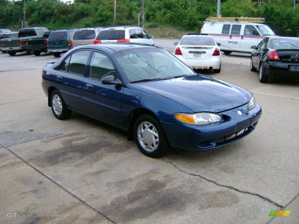 1998 tracer ls sedan atlantic blue medium flint gray photo 7