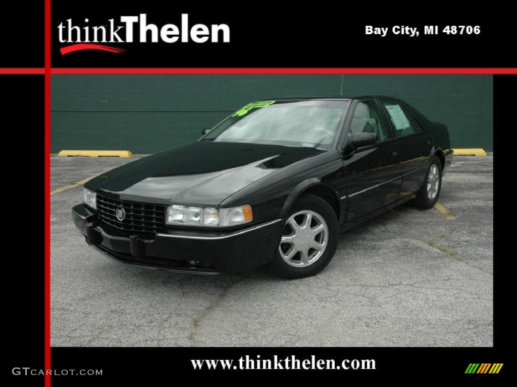 1996 Black Cadillac Seville STS 35999656 Photo 15  GTCarLotcom