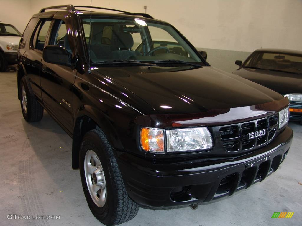 2002 Ebony Black Isuzu Rodeo Ls 354288 Photo 7