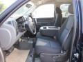 2011 Imperial Blue Metallic Chevrolet Silverado 1500 LS Crew Cab 4x4  photo #10
