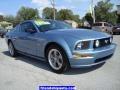 2006 Windveil Blue Metallic Ford Mustang GT Premium Coupe  photo #15