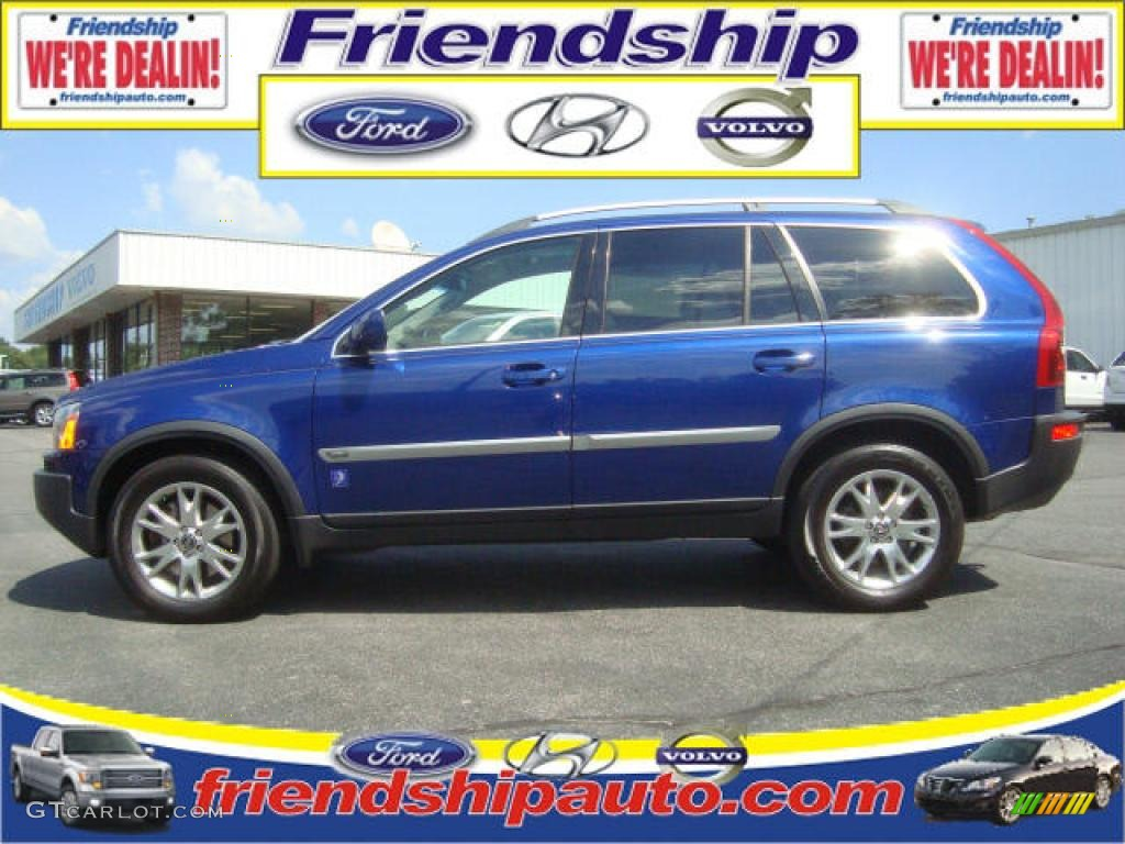 2006 volvo ocean race blue metallic volvo xc90 v8 awd volvo ocean race edition 36063342. Black Bedroom Furniture Sets. Home Design Ideas