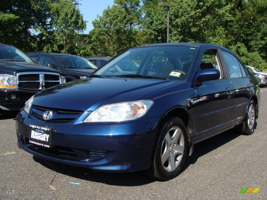 Eternal Blue Pearl Honda Civic