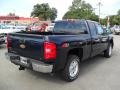 2011 Imperial Blue Metallic Chevrolet Silverado 1500 LT Extended Cab 4x4  photo #4