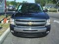2011 Imperial Blue Metallic Chevrolet Silverado 1500 LT Extended Cab  photo #2