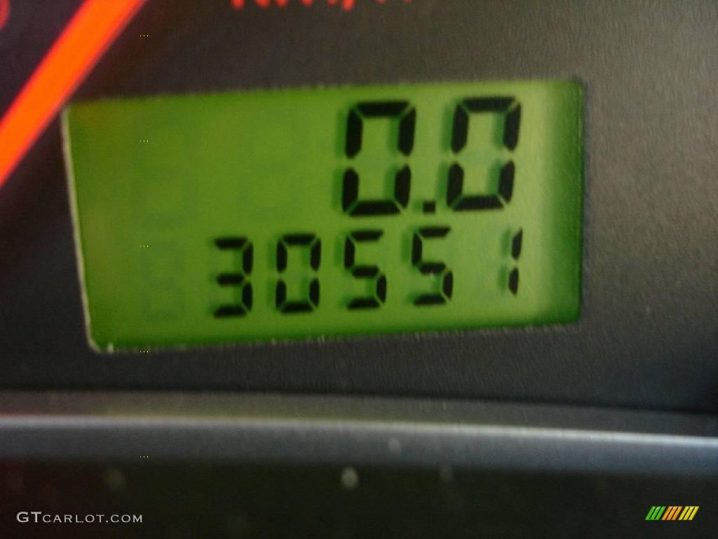 2005 Focus ZX4 ST Sedan - Pitch Black / Charcoal/Charcoal photo #13