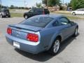 2007 Windveil Blue Metallic Ford Mustang V6 Deluxe Coupe  photo #4