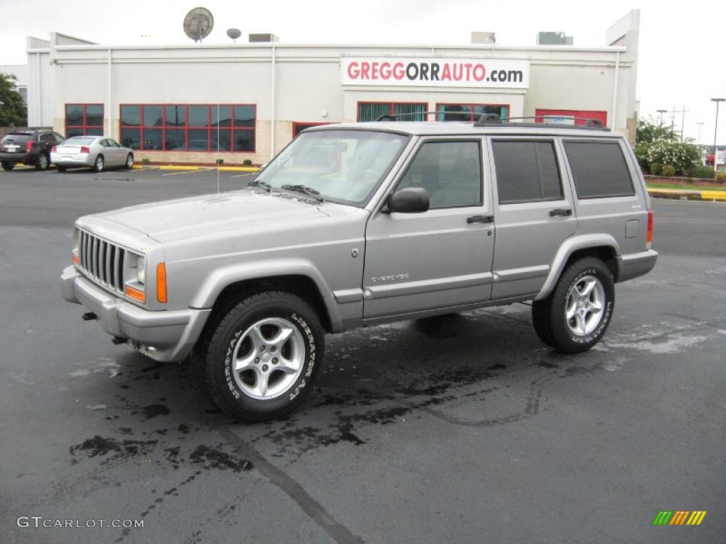 2001 jeep cherokee sport 4x4 silverstone metallic color agate. Cars Review. Best American Auto & Cars Review