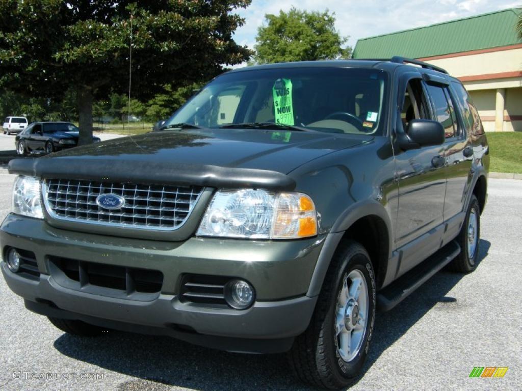Estate Green Metallic Ford Explorer