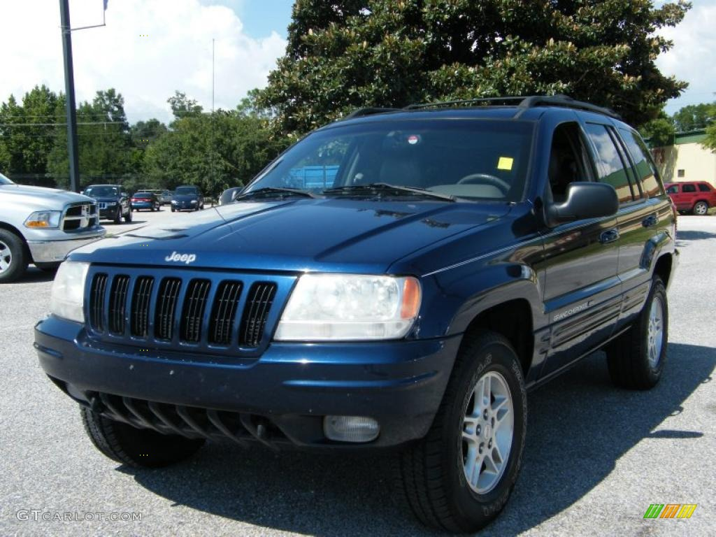 2000 patriot blue pearlcoat jeep grand cherokee limited for Interieur jeep grand cherokee 2000
