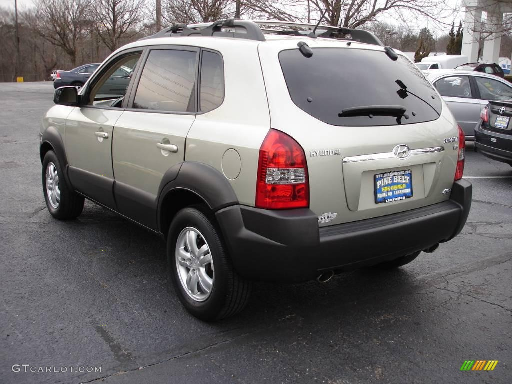 2006 sahara silver hyundai tucson gls v6 4x4 3564980 photo 5 car color galleries. Black Bedroom Furniture Sets. Home Design Ideas