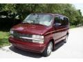 2002 Dark Carmine Red Metallic Chevrolet Astro LS  photo #1