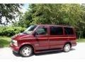 2002 Dark Carmine Red Metallic Chevrolet Astro LS  photo #2