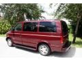 2002 Dark Carmine Red Metallic Chevrolet Astro LS  photo #4