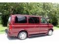 2002 Dark Carmine Red Metallic Chevrolet Astro LS  photo #9