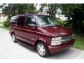 2002 Dark Carmine Red Metallic Chevrolet Astro LS  photo #12