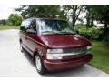 2002 Dark Carmine Red Metallic Chevrolet Astro LS  photo #13
