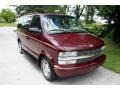2002 Dark Carmine Red Metallic Chevrolet Astro LS  photo #15