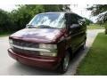 2002 Dark Carmine Red Metallic Chevrolet Astro LS  photo #16